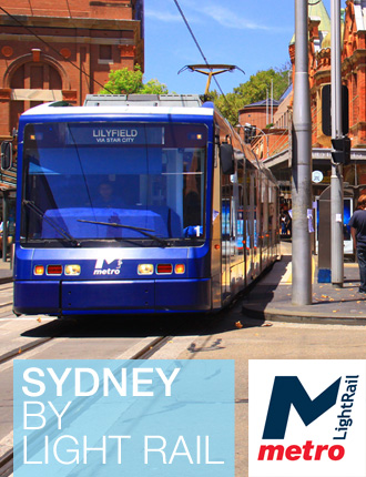 visit sydney light rail